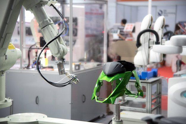 robot industrial para soldadura