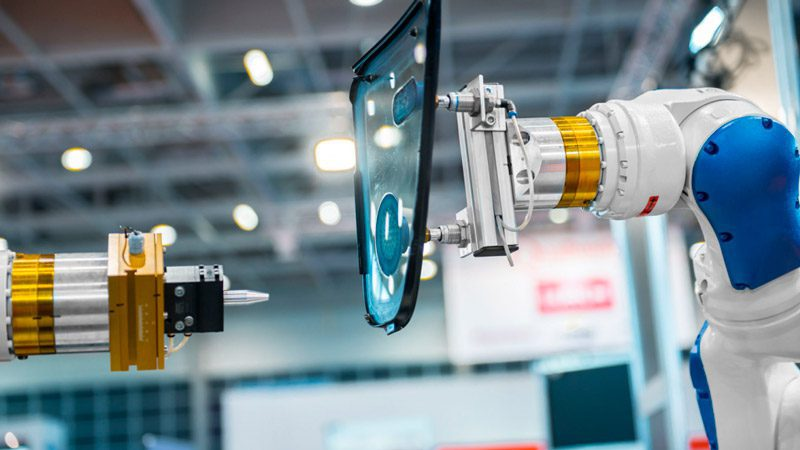 sensores externos de un robot