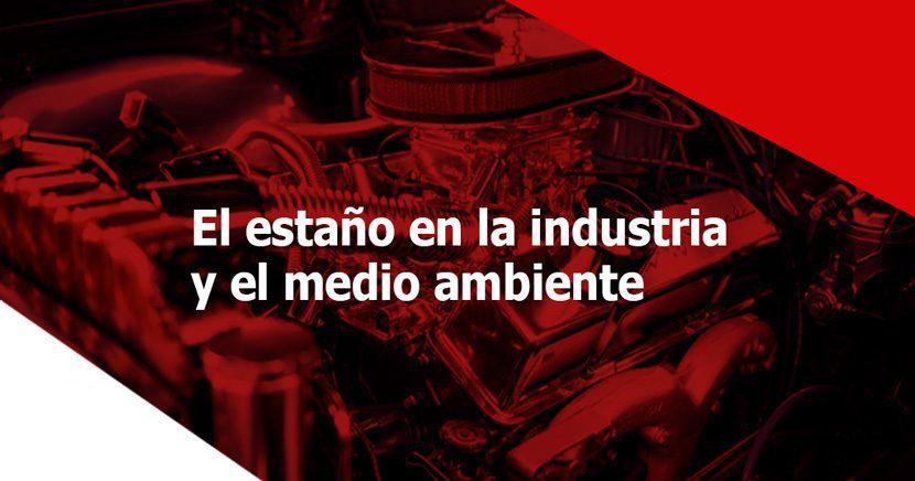 estaño en la industria