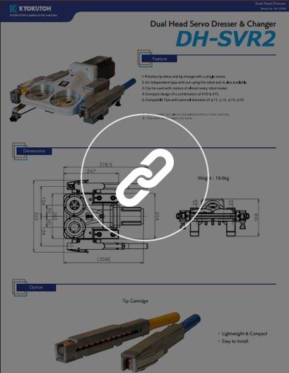 Afilador e Intercambiador Automático de electrodos (unidad dual) DH-SVR2