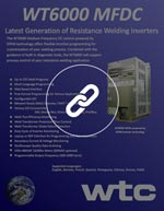 WT6000 TM Welding Control